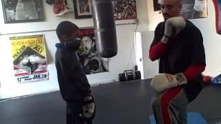 Angles to block the jab, cross, hook in Boxing Defense like Bernard Hopkins