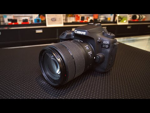 Canon EOS 90D Hands-On And Opinion (guest starring the Canon EOS M50)