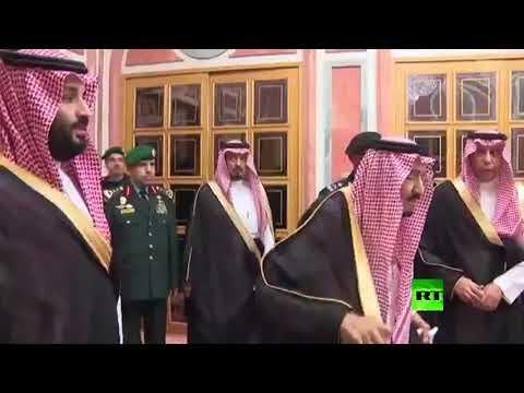 الملك سلمان وولي العهد يستقبلان أفرادا من عائلة خاشقجي  - نشر قبل 2 ساعة