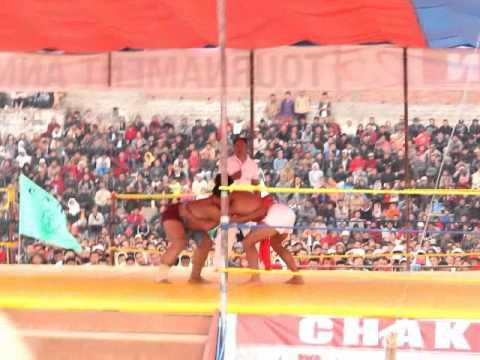 Naga Chakhesang wrestling 2016 Venuzo Dawhuo vs Surhoneyi Soho 1