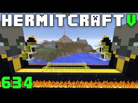 Hermitcraft V 634 The Coolest Place On The Server!