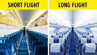 That's Why Airplane Seats Are Almost Always Blue