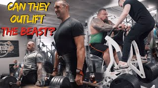 Deadlifts & Back with Paddy McGuinness and Martyn Ford