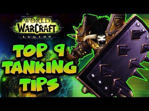 WoW Tank - Top 9 Tanking Tips - World of Warcraft Legion Raid Tanking - Tank Guide