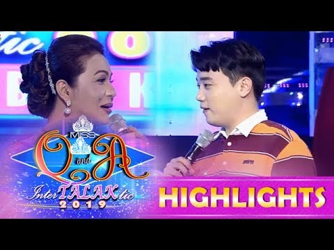 It's Showtime Miss Q & A: Ryan has a question for Charot Santos