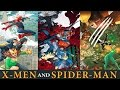 X-MEN AND SPIDER-MAN CROSSOVER │ Comic History