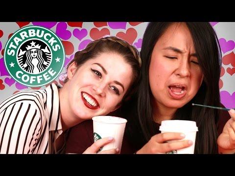 Starbucks' Valentine's Day Drinks Taste Test
