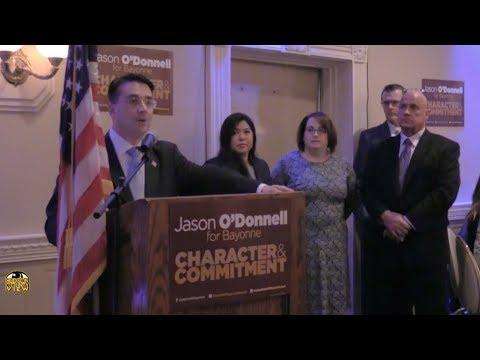 In Bayonne, O'Donnell, running mates, batter Davis admin over developer tax breaks