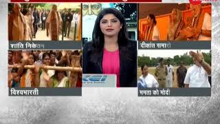 At Santiniketan, Chancellor Narendra Modi wins crowd with Tagore's 'ekla chalo re' message