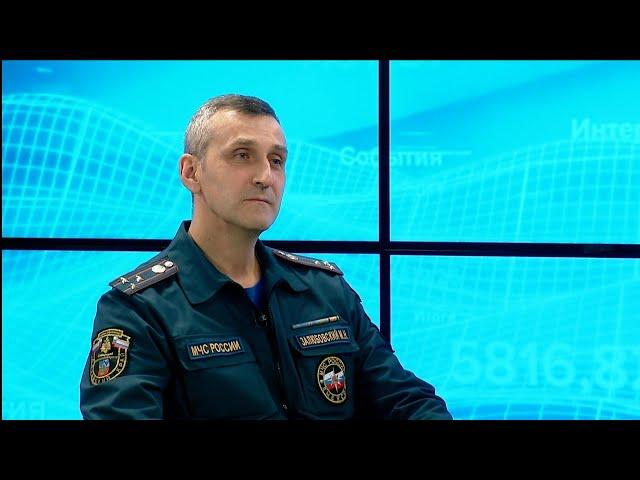 Максим Залюбовский: о предстоящем паводке в Алтайском крае