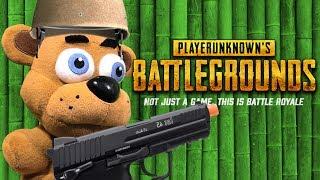 FNAF Plush Episode 118– PUBG (PlayerUnkowns BattleGrounds)