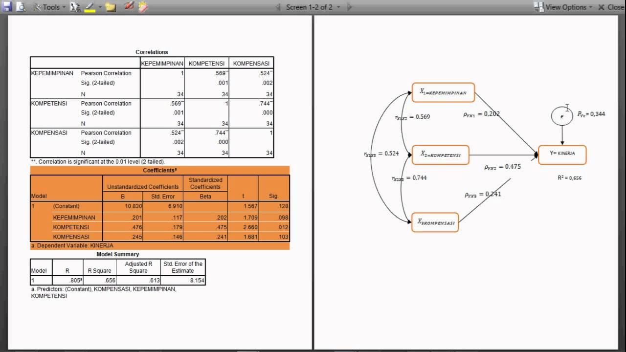 Menentukan dan menggambar analisis jalur berganda dari spss youtube menentukan dan menggambar analisis jalur berganda dari spss ccuart Choice Image