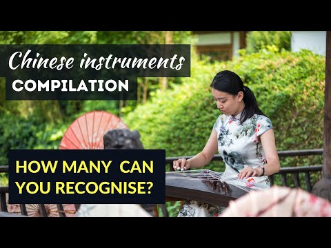 Compilation of Chinese Instruments From Chinese Orchestra