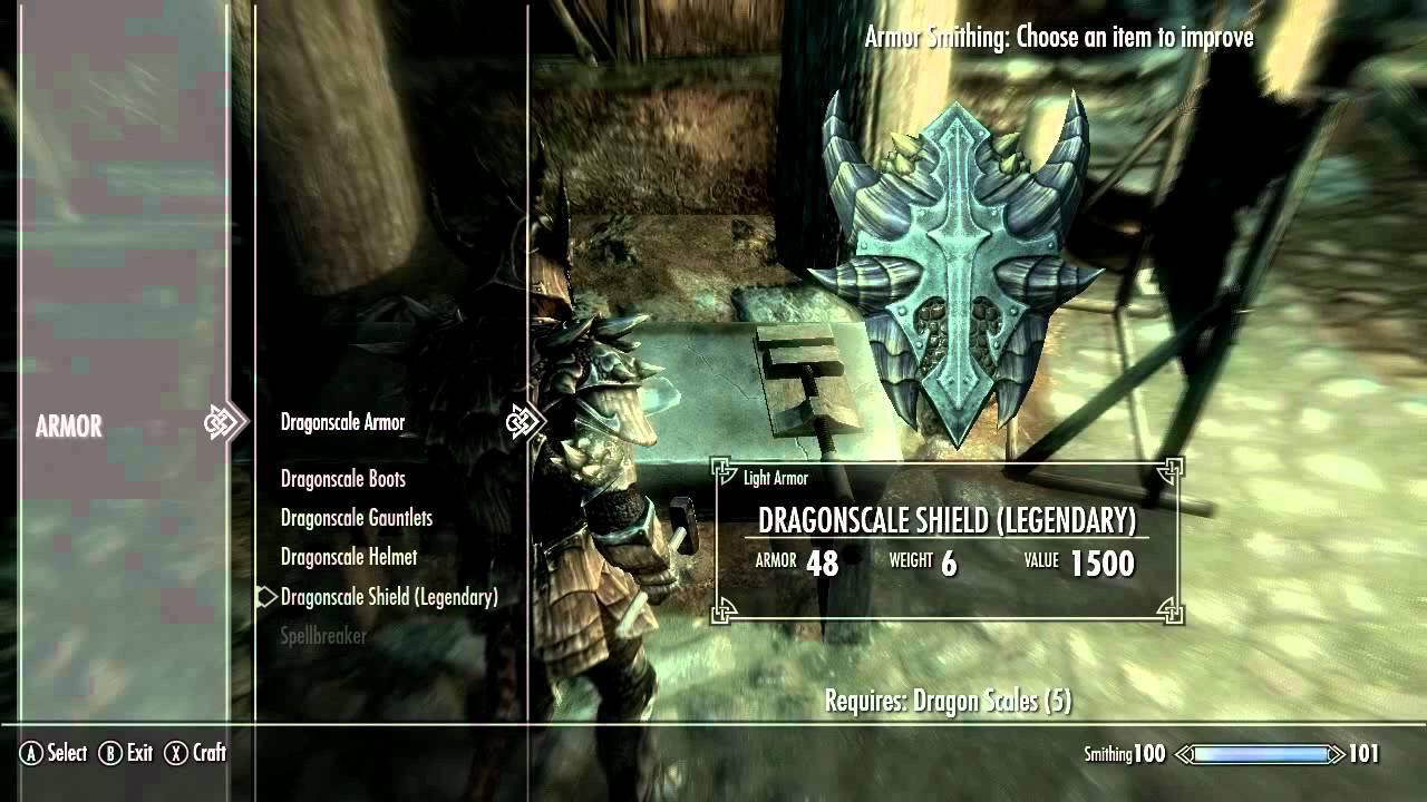 skyrim how to make dragonscale armor legendary youtube rh youtube com Skyrim Light Armor Skyrim Light Armor