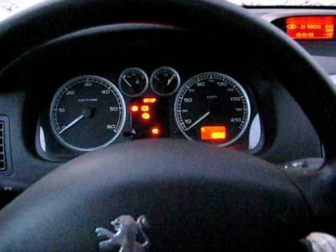 Peugeot 307 2 0 Hdi 2001 Cold Start Youtube