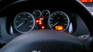 Peugeot 307 2.0 HDI 2001 Cold Start