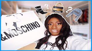 SPLURGING ON H&M MOSCHINO COLAB !!