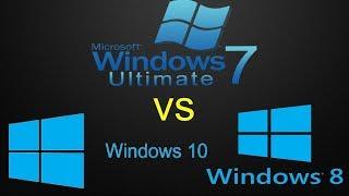какая Операционная система быстрей для Работы на Компьютере сравнение и тест windows 7 8 10