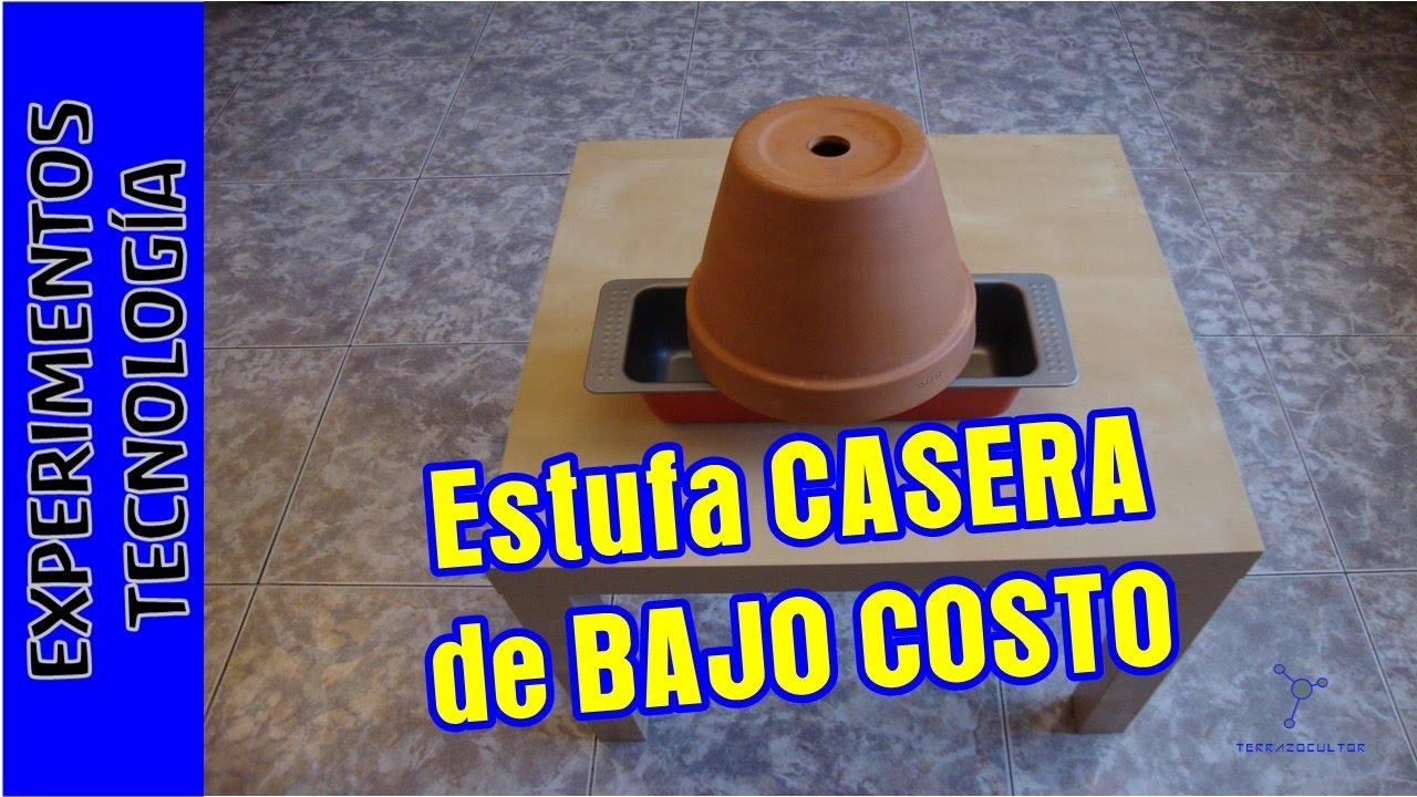Calefacci n o estufa casera de bajo costo youtube for Calefaccion economica