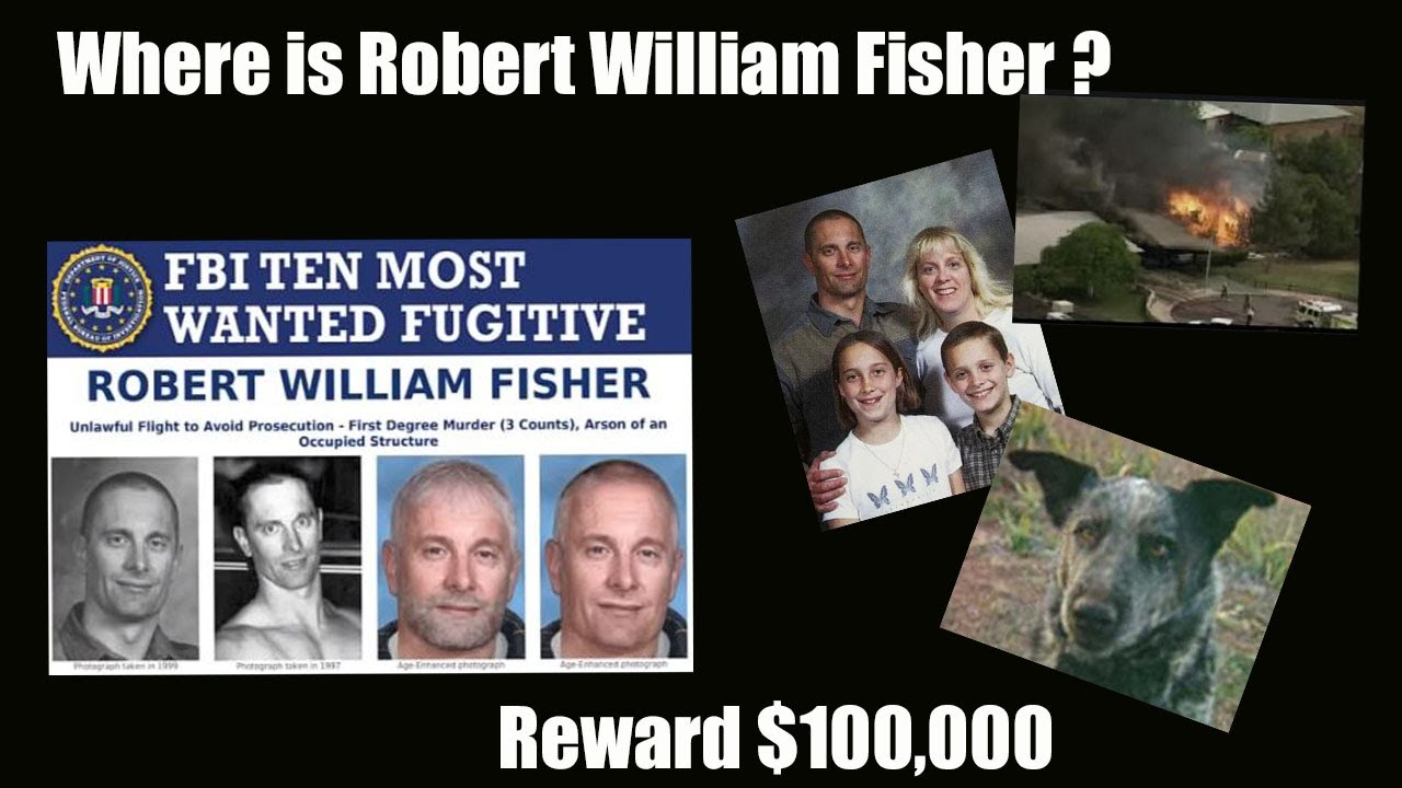 Download WANTED FUGITIVE   Where is Robert William Fisher   100K REWARD