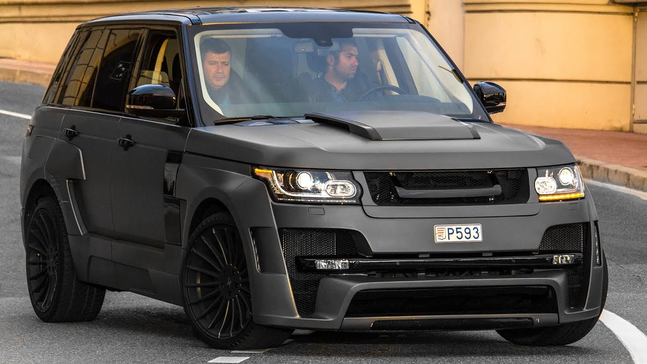 HAMANN RANGE ROVER MYSTERE REVIEW driving and sound 2016 HQ