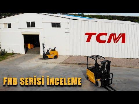 TCM FHB Serisi Akülü Forkliftler Ergonomi, Kompakt ve Yüksek Manevra Kabiliyeti ile Hizmetinizde!