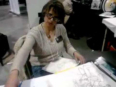 Cynthia Martin star wars comic artist signing 2011