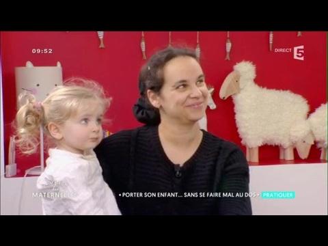 Comment porter son enfant sans se faire mal au dos ? La Maison des Maternelles