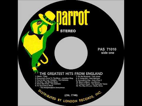 THE GREATEST HITS FROM ENGLAND (FULL ALBUM) 6. It's Good News Week - The Hedgehoppers Anonymous 1965