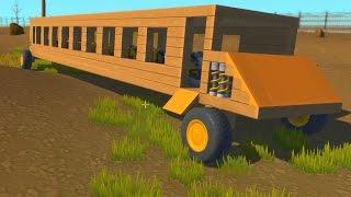 Scrap Mechanic - Bus Build