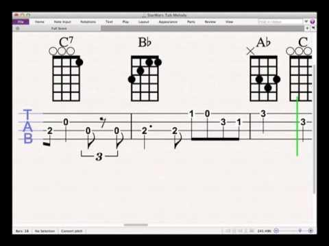 Ukulele ukulele tabs up theme song : Star Wars Theme Ukulele Tab - YouTube