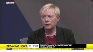 Angela Eagle Explains Why Shes Resigned From The Shadow Cabinet