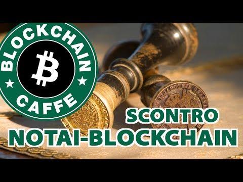 Notai vs Blockchain | Blockchain Caffe