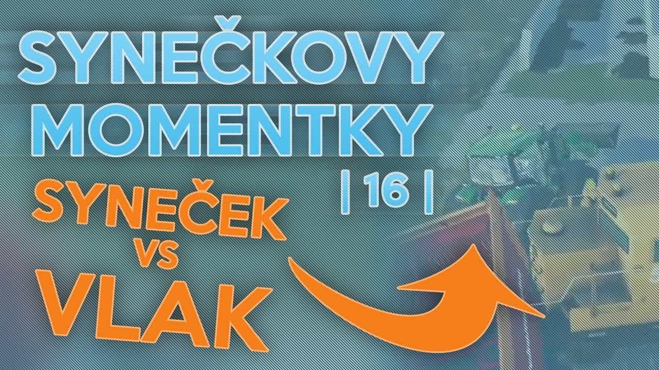 SYNEČEK VS VLAK! | Synečkovy Momentky #16