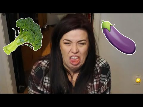 Vegetable Hater is Forced to Eat Vegetables