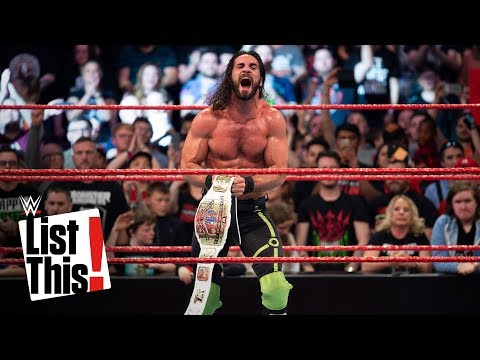 5 Superstars with the most wins in 2018: WWE List This!