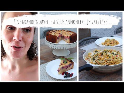vlog-du-23/06-poêlée-de-semoule-poulet-à-la-marocaine,-gâteaux-aux-fruits-rouge-tonga-et-streusel