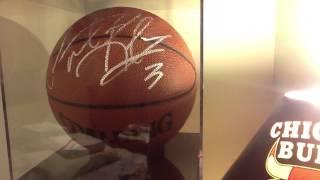 NBA autograph collection MAJOR MOJO MJ KOBE LARRY  ETC MUST WATCH!