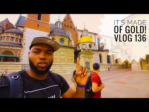 """Castle Exploring in KRAKOW, POLAND! Vlog 136    """"It's all made of GOLD!!!!"""""""