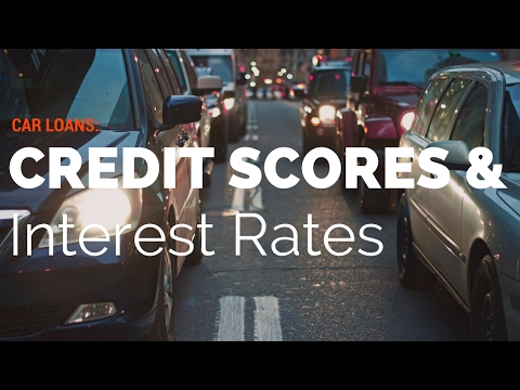Car loans, credit scores & interest rates  How do you compare?