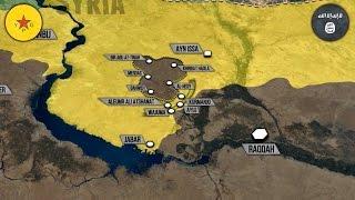 12 января 2017. Военная обстановка в Сирии. YPG взяли игиловцев в котел. Русский перевод.
