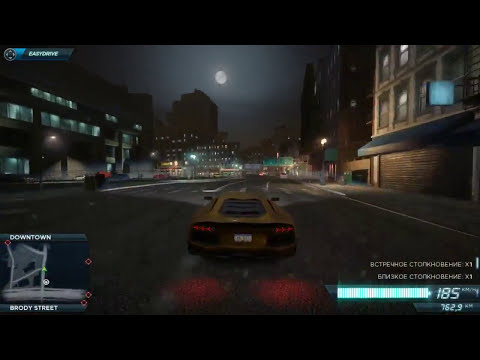 Need for Speed: Most Wanted 2012 - Lamborghini Aventador Gameplay