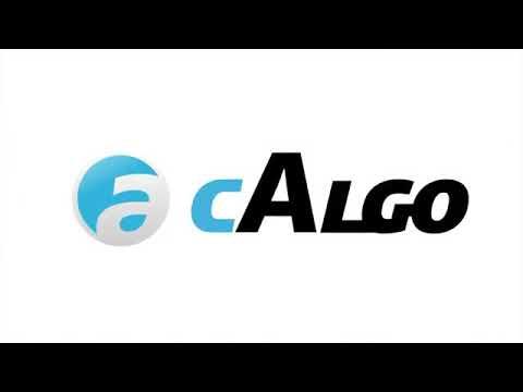 cAlgo - Introduction