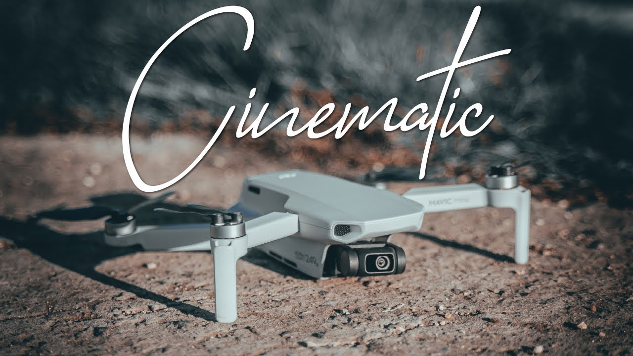 Cinematic Professional Footage with DJI Mavic Mini