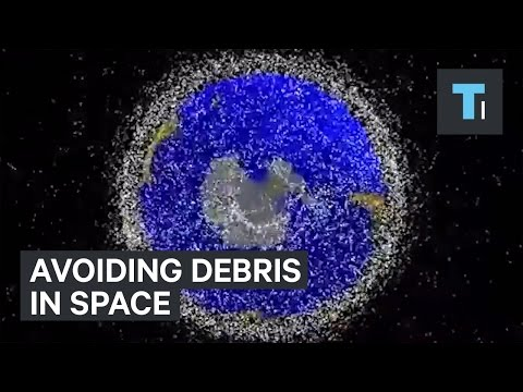 How the Space Station avoids junk in space