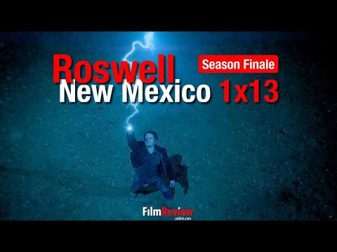 "Roswell New Mexico 1x13 Promo Trailer ""Recovering the Satellites"" SEASON FINALE"