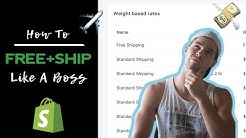 How To Set Up Shopify Free Plus Shipping For Mad Profit