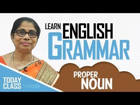 Learn English Grammar for kids | Proper Noun | Basic English Grammar
