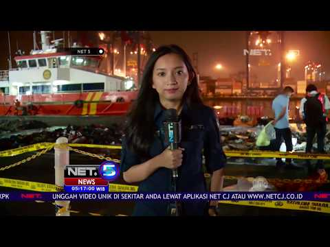 Kantong Jenazah Berisikan Potongan Tubuh Korban Lion Air JT 610 Tiba Di Posko Pencarian   NET5 Mp3
