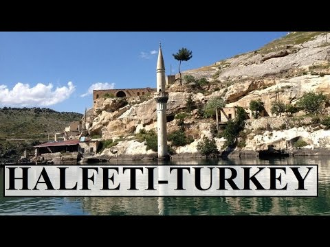 Turkey-Şanlıurfa /Halfeti (Sunken city still alive!!!) Part 11